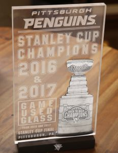 Pens Back 2 Back Game Glass Photos- Page 7